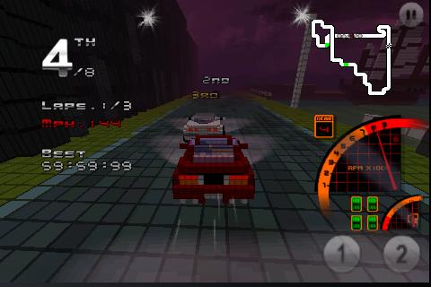 Screenshot 3D Pixel Racing Lite